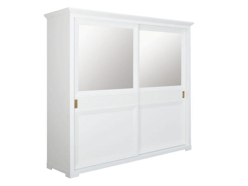 Dulap dormitor Verona bianco - alb