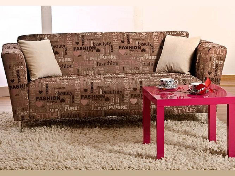 Canapea fixa cu trei locuri MAC
