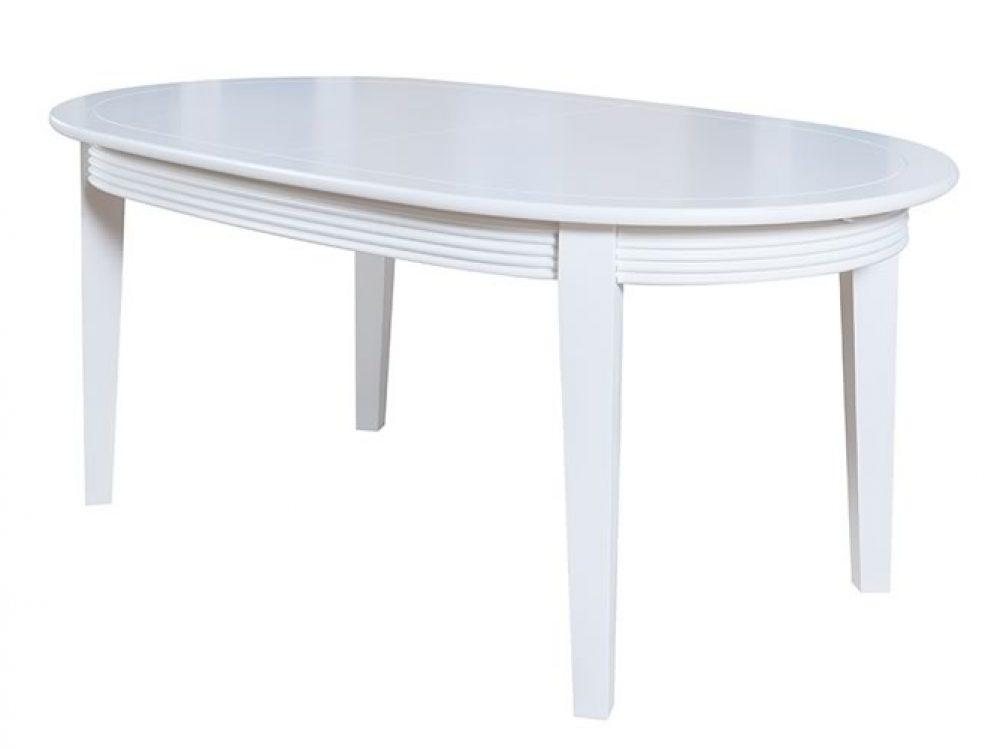Masa extensibila ovala Verona alb