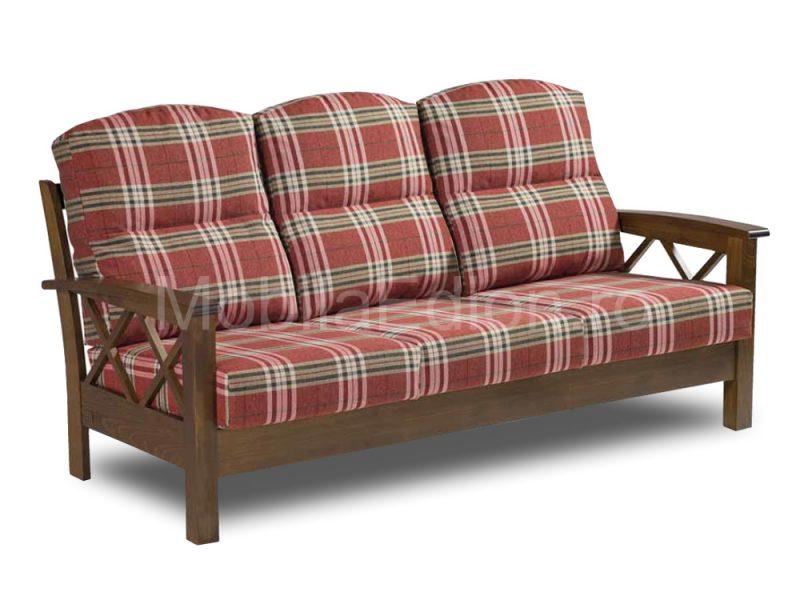 Canapea 3 locuri Hesinki lemn masiv