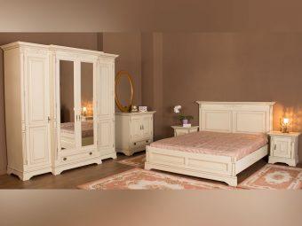 Dormitor Amelie crem