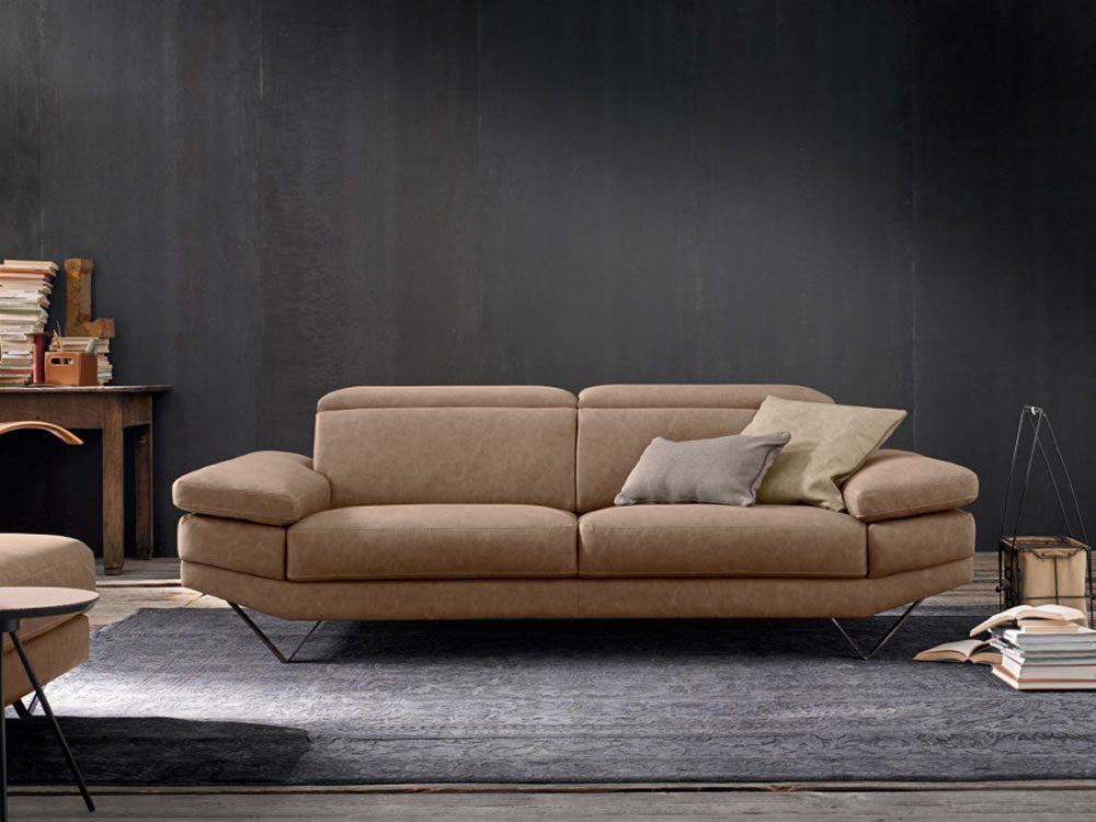 Canapea din piele Howard