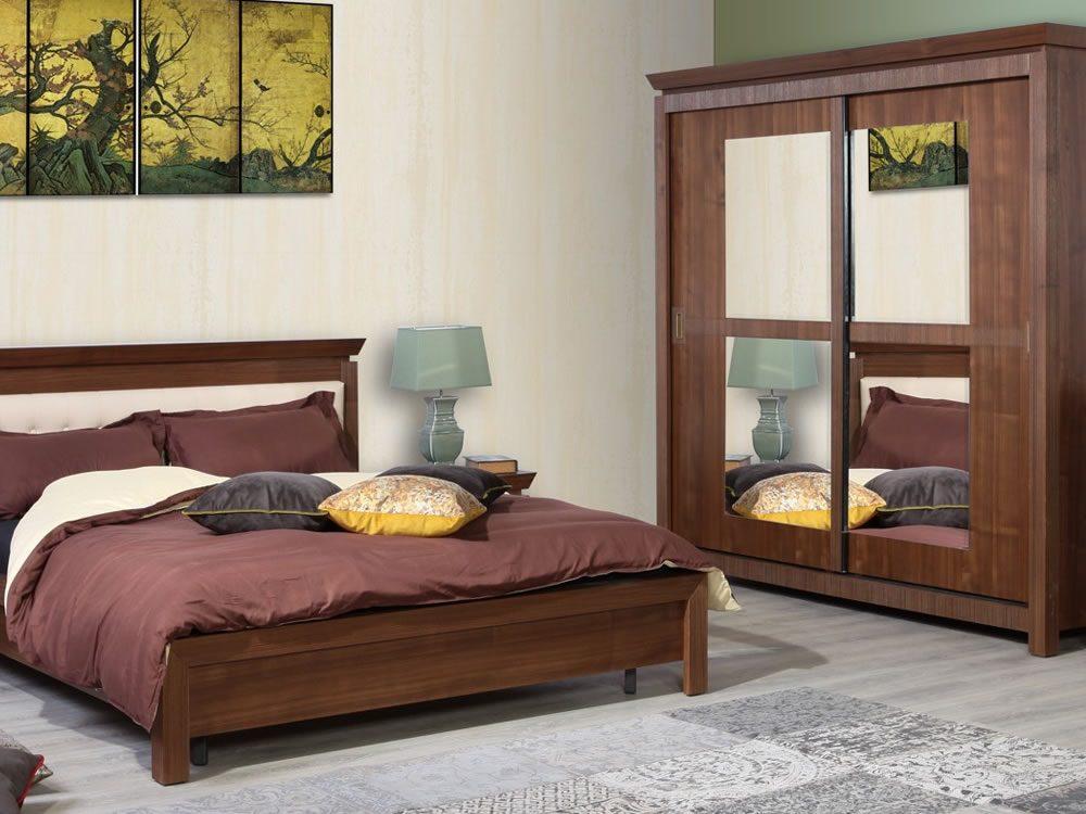 Set mobilier de dormitor Saigon nuc