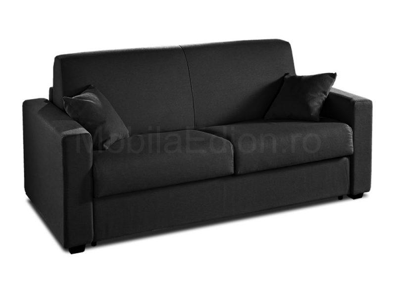 canapea extensibila Antares negru
