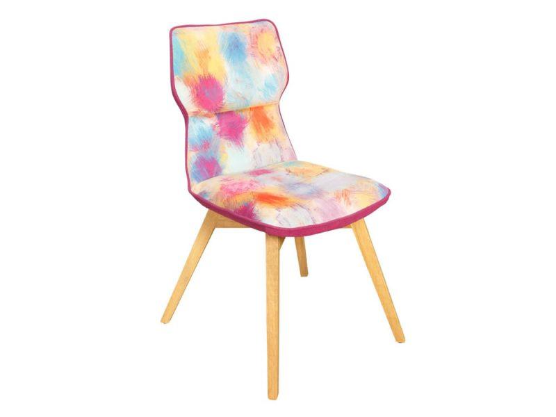 scaun demi fuchsia