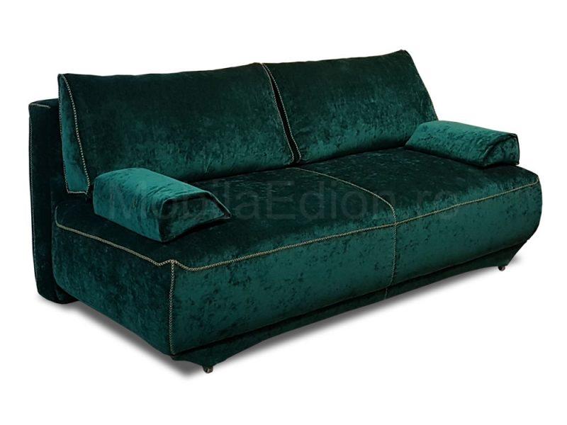 Canapea extensibila Samara stofa verde Hunter