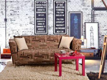 canapea fixa 3 locuri Macon