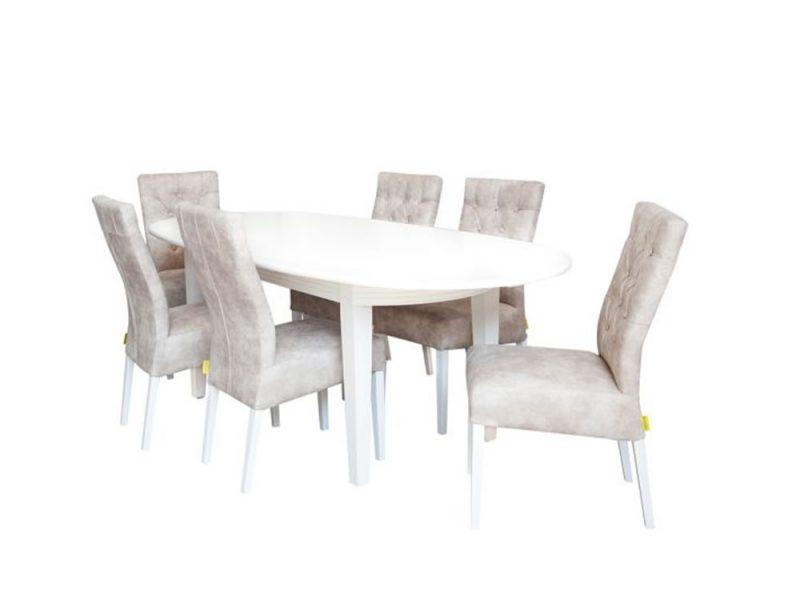Set masa Verona cu 6 scaune Lisa