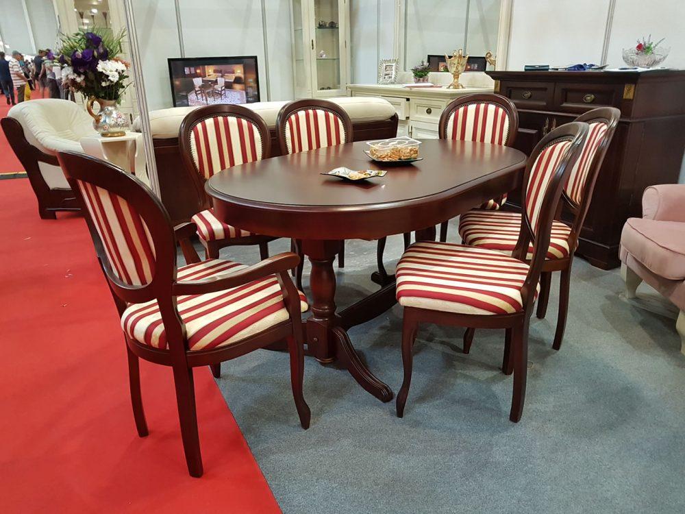 set masa Amelie cu scaune Romantic cires