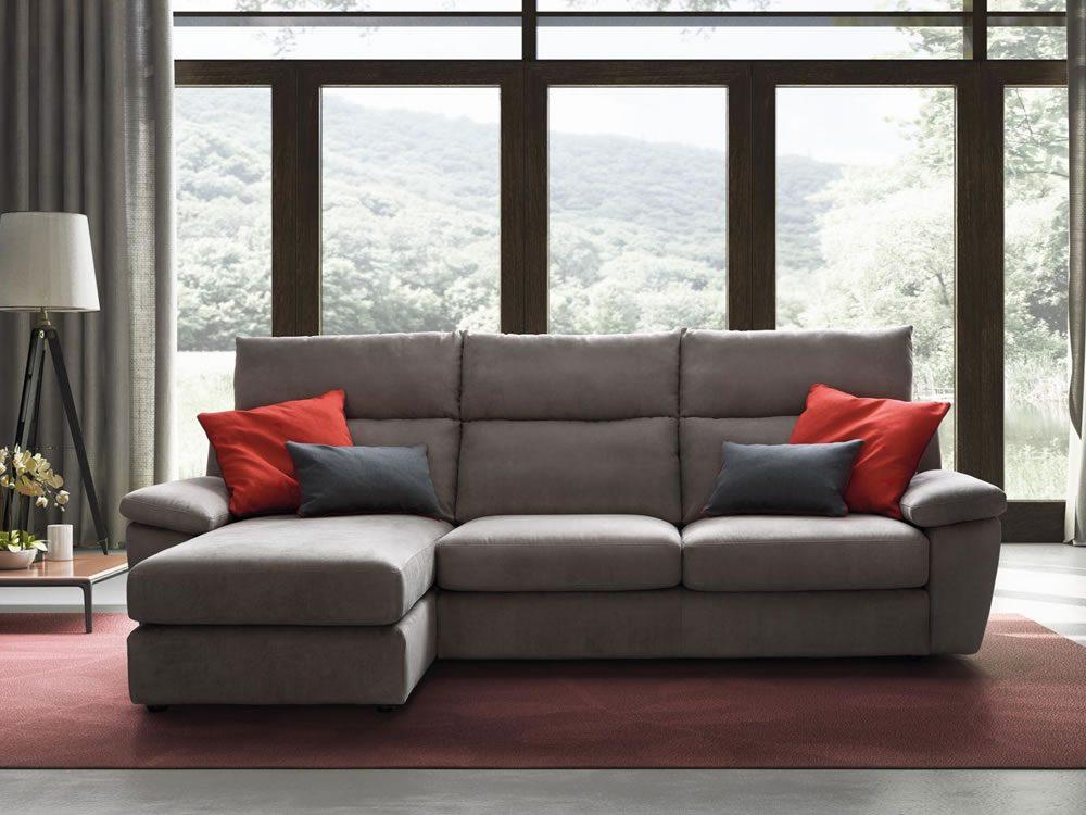 canapea medea 3 locuri + sezlong pe stanga