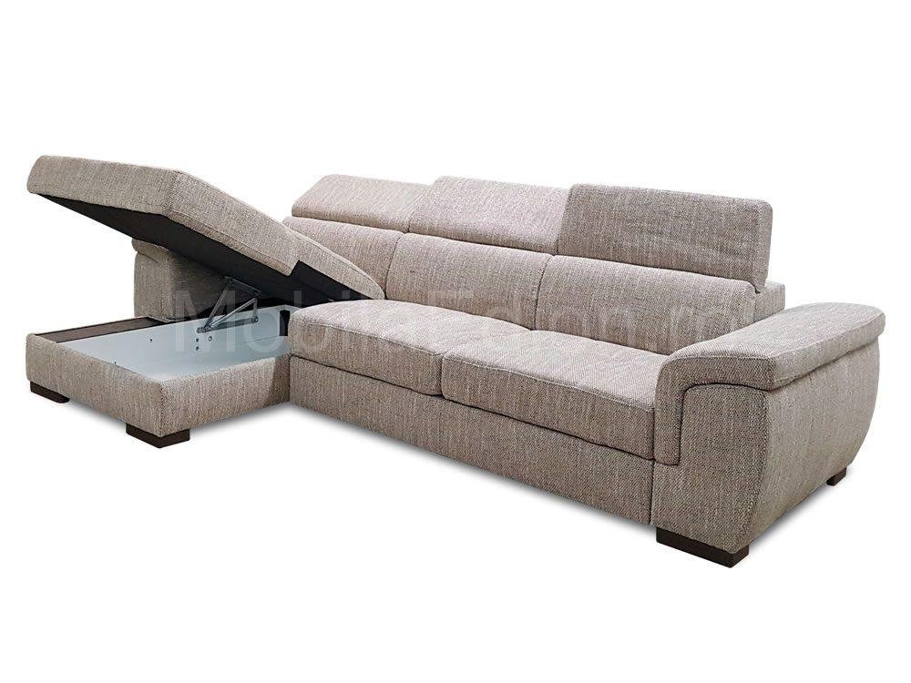 Canapele coltare cu tetiere Raymond