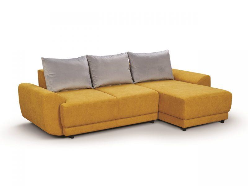 Canapea cu sezlong Atom extensibila