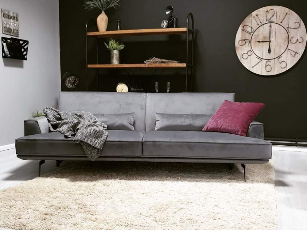 Canapele extensibile din stofa