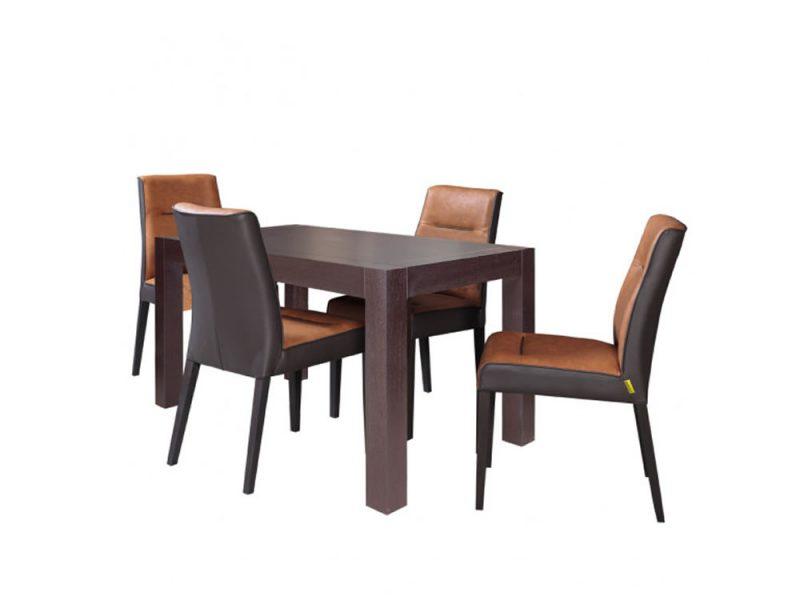 Set Masa extensibila CUBE cu 4 scaune Fiona