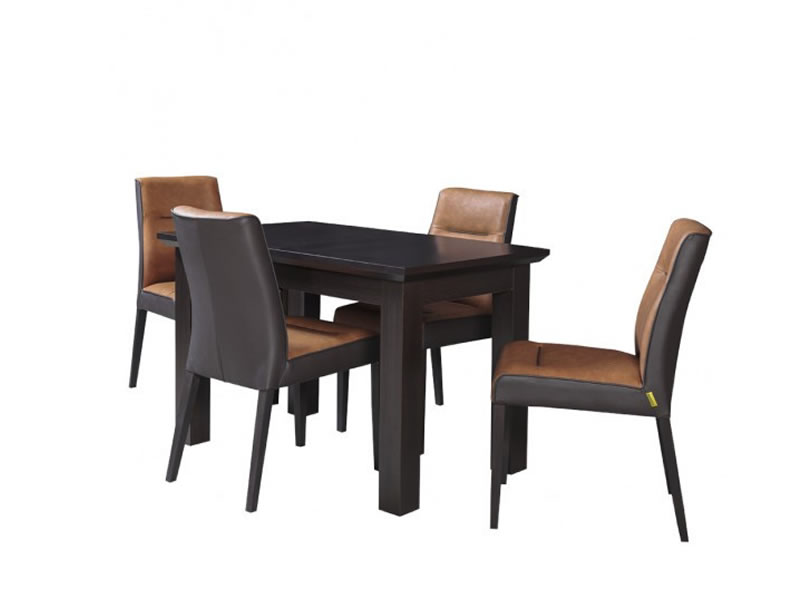 Set masa extensibila Fiona cu 4 scaune