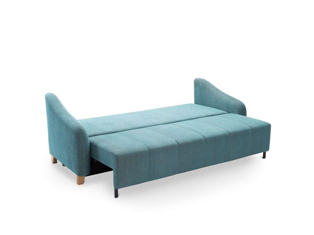 Canapea extensibila cu lada depozitare SAXO